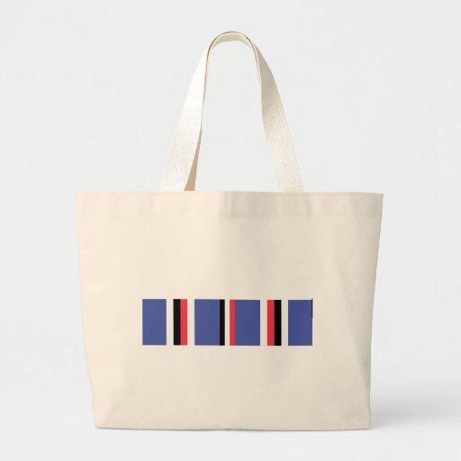 American Campaign Ribbon Canvas Bags