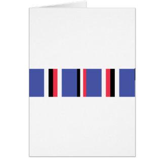 American Campaign Ribbon Greeting Card