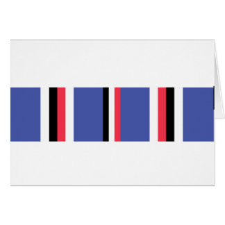 American Campaign Ribbon Greeting Card