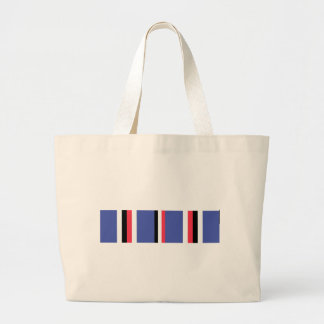 American Campaign Ribbon Large Tote Bag