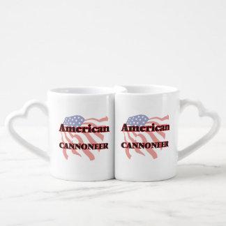 American Cannoneer Lovers Mug Sets