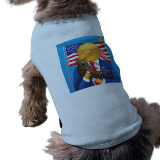 American Catastrophe Doggie Ribbed Tank Top