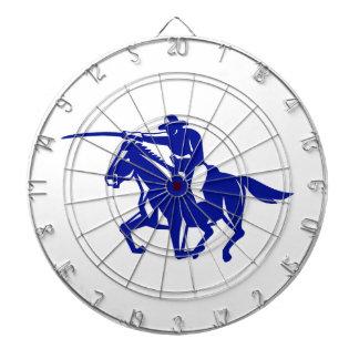 American Cavalry Charging Retro Dartboard
