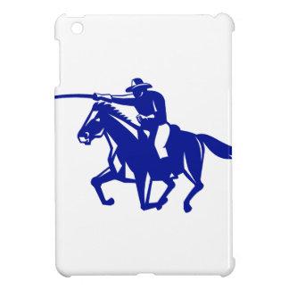 American Cavalry Charging Retro iPad Mini Cover
