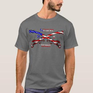 American Cavalry Men's Basic Dark T-Shirt