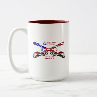 American Cavalry Two-Tone Mug