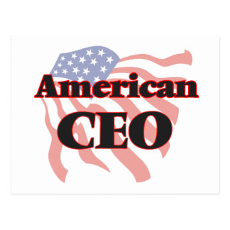 American Ceo Postcard