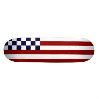 American Checkered Flag 1 Comp Bubba Skateboard Deck
