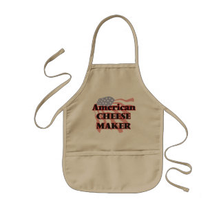American Cheese Maker Kids Apron