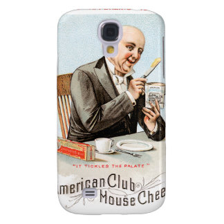 American Cheese Vintage Food Ad Art Samsung Galaxy S4 Covers