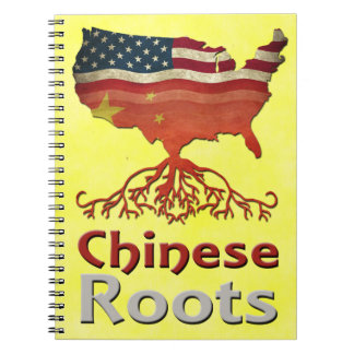 American Chinese Roots Notepad Notebooks