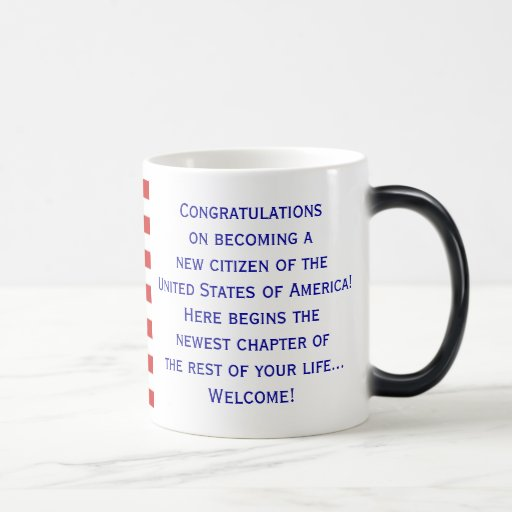 American Citizenship Flag Mug Coffee Mug