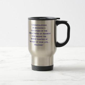 American Citizenship Flag Travel Mug by Janz