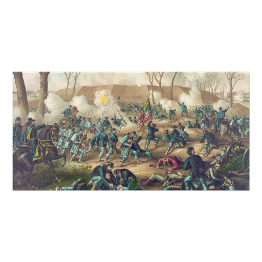 American Civil War Battle of Fort Donelson 1862 Picture Card
