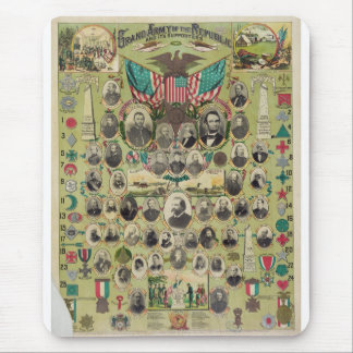 American Civil War's Grand Army of the Republic Mouse Pad