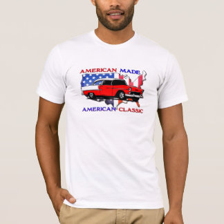 American Classic Mens Muscle Car T-shirt