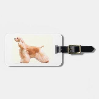 American Cocker Spaniel (ASCOB) Luggage Tag