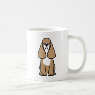American Cocker Spaniel Dog Breed Cartoon Mug