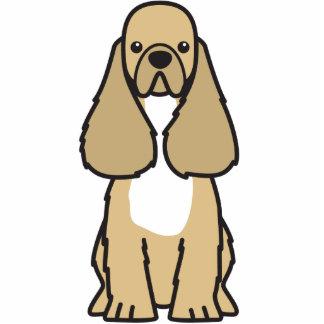 American Cocker Spaniel Dog Cartoon Photo Sculpture