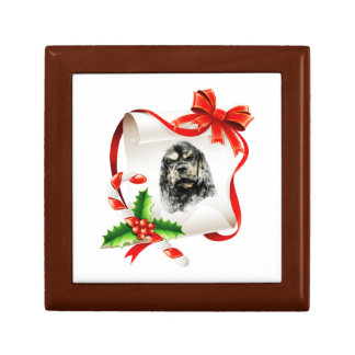 American Cocker Spaniel Gift Box