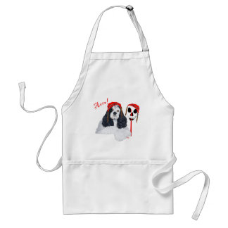 American Cocker Spaniel Pirate Standard Apron