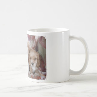 American Cocker Spaniel Puppies Coffee Mug
