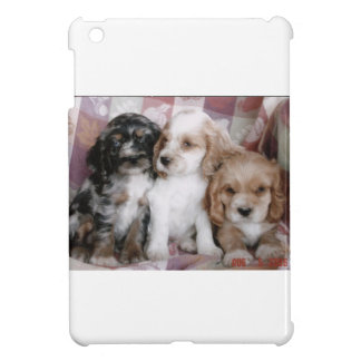 American Cocker Spaniel Puppies iPad Mini Cover