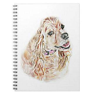 American Cocker Spaniel Spiral Notebook