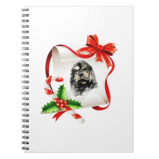 American Cocker Spaniel Spiral Notebooks