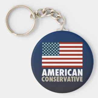 American Conservative Key Ring
