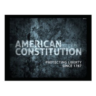 American Constitution Post Card