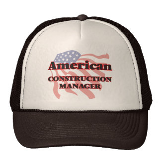 American Construction Manager Cap