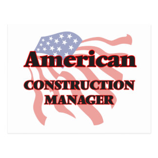 American Construction Manager Postcard
