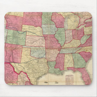 American Continent United States Mousepad