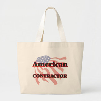 American Contractor Jumbo Tote Bag