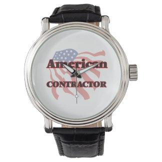 American Contractor Wristwatch