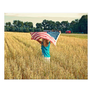 American Country Photo Print