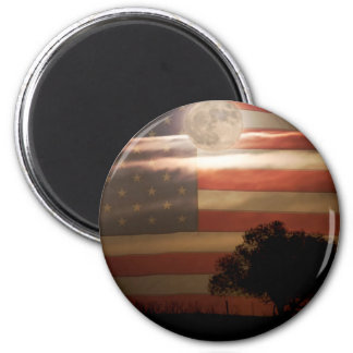 American Country Supermoon Magnet