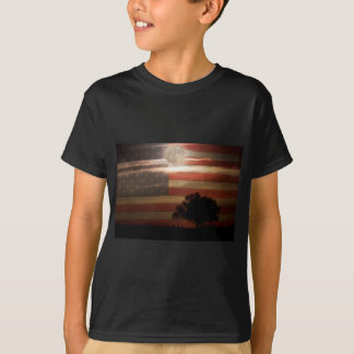 American Country Supermoon T-Shirt