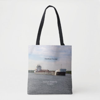 American Courage all over tote bag