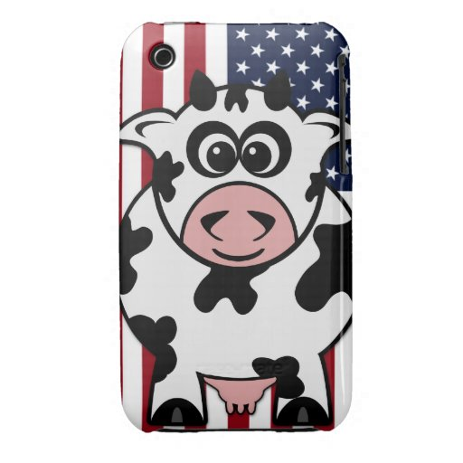 American Cow Case-Mate iPhone 3 Cases