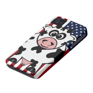 American Cow iPhone 4 Case-Mate Case