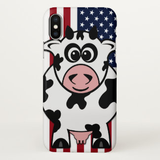 American Cow iPhone X Case