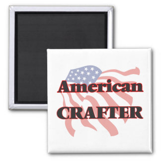American Crafter Square Magnet