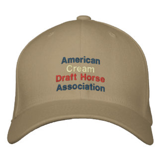 American, Cream Draft Horse Association Cap