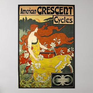 American Crescent-1899 Poster