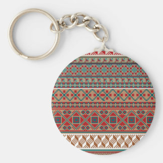 American culture pattern. keychains