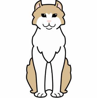 American Curl Cat Cartoon Photo Cutouts