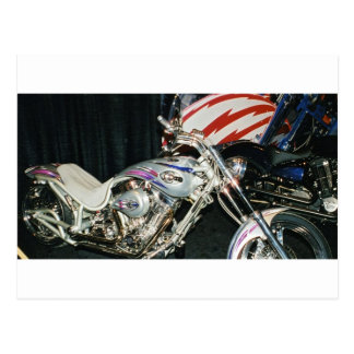 American Custom VTwin Motorcycle. Postcard
