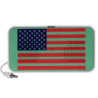 American Dandy Yankee-Doodle Color Flag Laptop Speaker